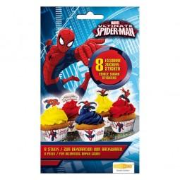 Zuckersticker Spiderman, 8 Stk.