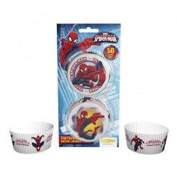 Muffinförmchen Spiderman, 50 Stk.