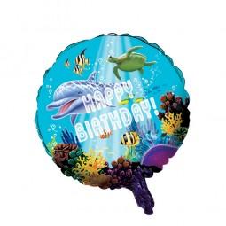 Folienballon Delfin Party