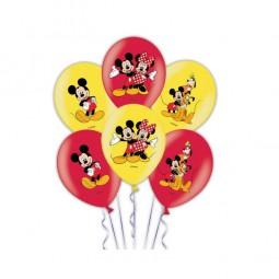 Ballons Micky Maus, 6 Stk.