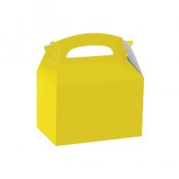 Geschenkbox gelb, 1 Stk.