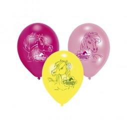 Ballons Pferde, 6 Stk.