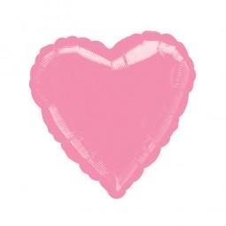 Folienballon Herz pink, 1 Stk.