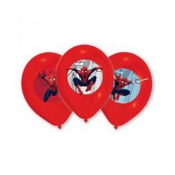 Ballons Spiderman, 6 Stk.