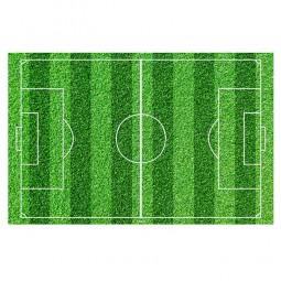 Tortenaufleger Fussballfeld rechteckig, 1 Stk.