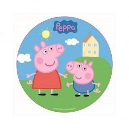 Tortenaufleger Peppa Pig, Ø 16 cm