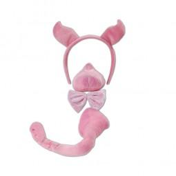 Accessoires-Set Schweinchen, 4-tlg.