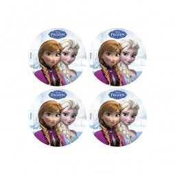 Muffinaufleger Frozen / Die Eiskönigin, 12 Stk.