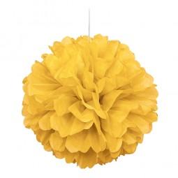 Pompom gelb, 1 Stk.