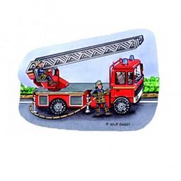Radiergummi Feuerwehrauto, 1 Stk.