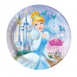 Teller Cinderella Fairytale, 8 Stk.