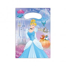 Partytüten Cinderella Fairytale, 6 Stk.