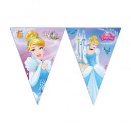 Wimpelkette Cinderella Fairytale, 1 Stk.