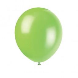 Luftballons hellgrün, 10 Stk.