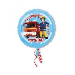 Folienballon Feuerwehrmann Sam, 1 Stk.