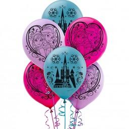 Ballons Frozen / Die Eiskönigin, 6 Stk.