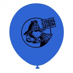 Luftballons Detektiv Flo, 8 Stk.