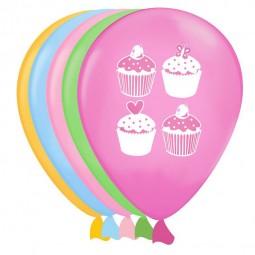 Luftballons Cupcake, 8 Stk.