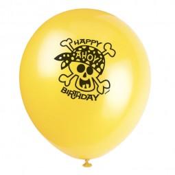 Luftballons Ahoi Piraten, 8 Stk.