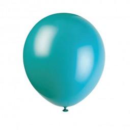 Luftballons türkis, 10 Stk.