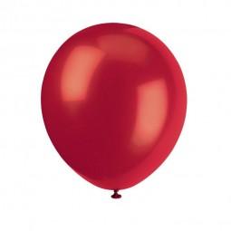 Luftballons rot, 10 Stk.