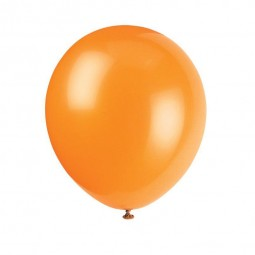 Luftballons orange, 10 Stk.