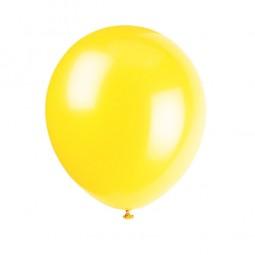 Luftballons gelb, 10 Stk.