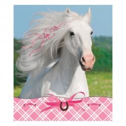 Notizblock Weisses Pferd, 4 Stk.