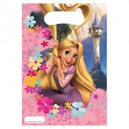 Partytüten Kindergeburtstag. Rapunzel, 6 Stk.