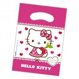 Partytüten Kindergeburtstag. Hello Kitty, 6 Stk.