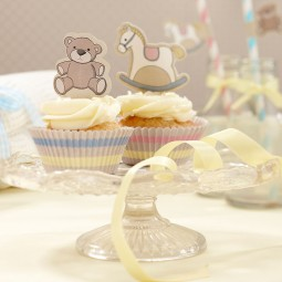 Cupcakeset Rock-a-bye Baby, 50-tlg.