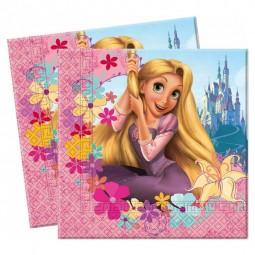 Servietten Kindergeburtstag. Rapunzel, 20 Stk.