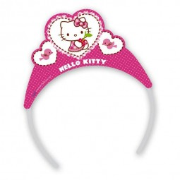 Tiara Kindergeburtstag. Hello Kitty