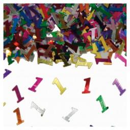 Tischkonfetti Zahl 1, 15 g