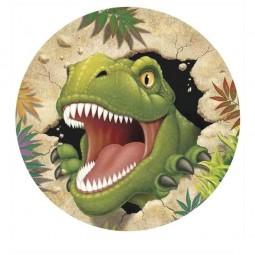 Tortenaufleger Dino Alarm, 1 Stk.