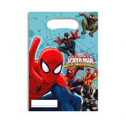 Partytüten Ultimate Spiderman, 6 Stk.