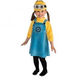 Minion-Kostüm Mädchen, XS
