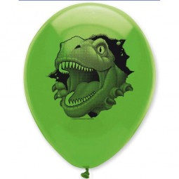 Luftballons Dino Alarm, 6 Stk.