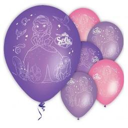 Luftballons Sofia die Erste / Sofia the First, 6 Stk.